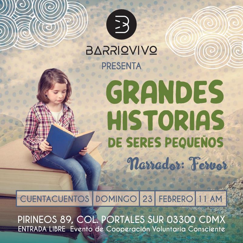 Cuentacuentos: Grandes historias de seres pequeños